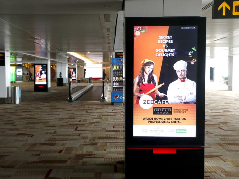 Outdoor Advertising Company Delhi Airport   OOH Advertising India
